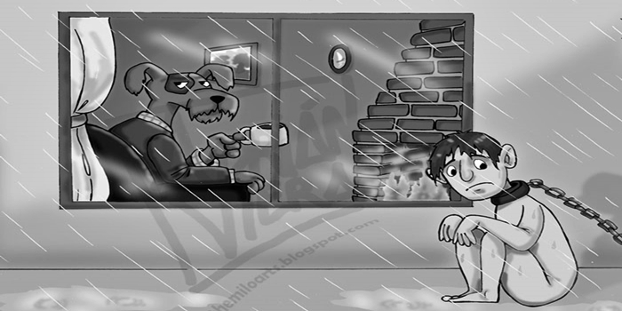 Sinistro! Ilustrações mostram um universo paralelo onde os animais ocupam o lugar dos humanos